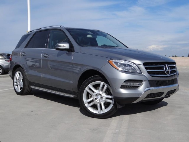 Pre-Owned 2014 Mercedes-Benz M-Class ML 350 All Wheel Drive 4MATIC SUV